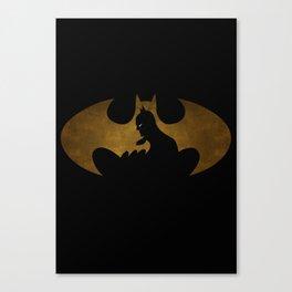 The dark man Canvas Print