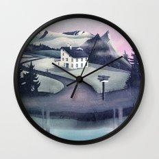 Alpine Island Wall Clock