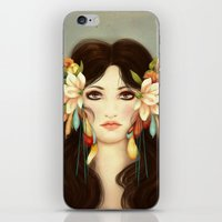 helen iPhone & iPod Skins featuring Helen of Troy by La Cococita