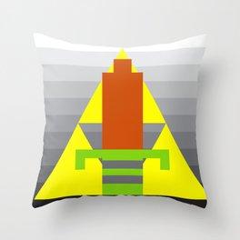 8-Bit Hero Throw Pillow