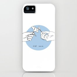 Still Naive iPhone Case