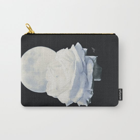 Moon Rose (2) Carry-All Pouch