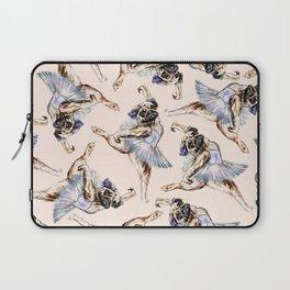 Pug Ballerina in Dog Ballet | Swan Lake  Laptop Sleeve