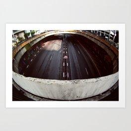 60km/h Art Print