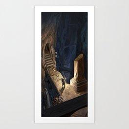 Dungeon Delve Art Print