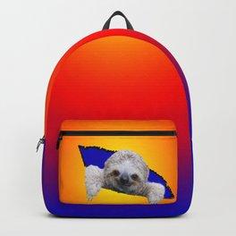 Starburst Sloth Backpack