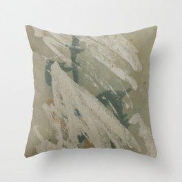 Erased Throw Pillow