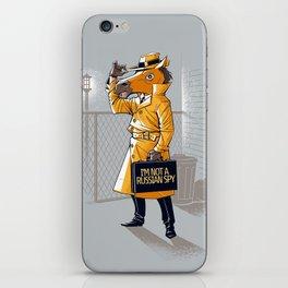 I'm Not a Russian Spy iPhone Skin
