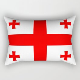 Georgia country flag Rectangular Pillow