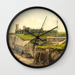Vintage Photo-Print of Kingsgate Castle (1900) Wall Clock