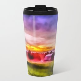 Day is Done on the Farm Travel Mug