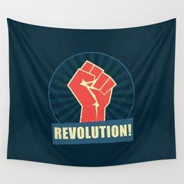 Revolution! Wall Tapestry