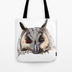 Long Eared Owl Tote Bag