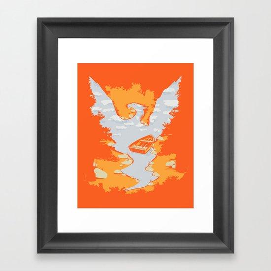 River Phoenix - Autumn Framed Art Print
