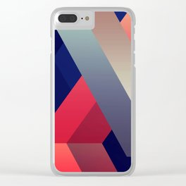 geometric abstract II Clear iPhone Case