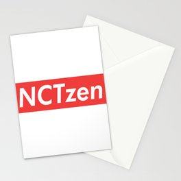 NCT NCTzen red Stationery Cards