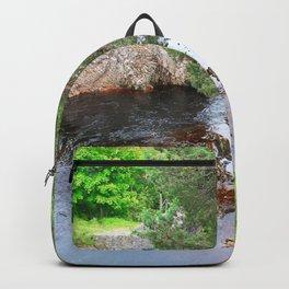 Peaceful stream Backpack