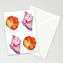 Sea ornament Stationery Cards
