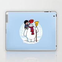 Inflatable Snowman Laptop & iPad Skin