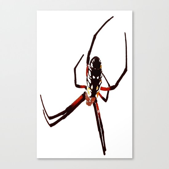 spider from mars Canvas Print