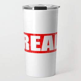 "A Real Tee For The Bossy You Saying ""The Real Boss"" T-shirt Design Administrator Chief Director Travel Mug"