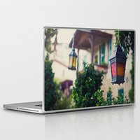 lanterns Laptop & iPad Skins featuring lanterns by De's Fantastical Creations