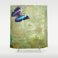 lonely Shower Curtains featuring LONELY by AlyZen Moonshadow