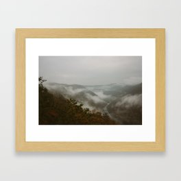 New River Gorge; West Virginia  Framed Art Print