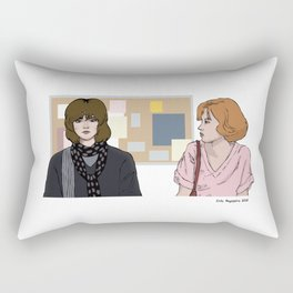 The Girls Of the Breakfast Club Rectangular Pillow