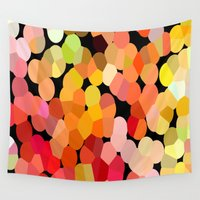 confetti Wall Tapestries featuring Confetti by Rosie Brown