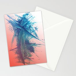 Salmon Surf Stationery Cards