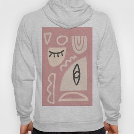 Abstrac Line Shapes 12 Hoody