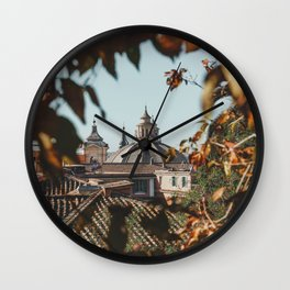 Rome Through the Trees Wall Clock