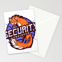 THE Security Engineer Stationery Cards