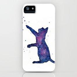 Galactic Cat iPhone Case