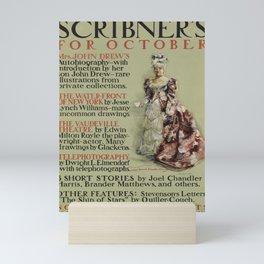 deko scribners for october. 1899 Mini Art Print