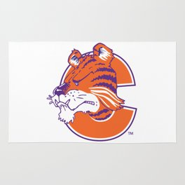 Clemson tiger Rug