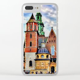 Cracow wawel castle Clear iPhone Case