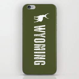 Deer: Wyoming iPhone Skin