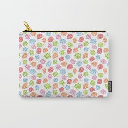 Wibbly Wobbly Flowers Carry-All Pouch