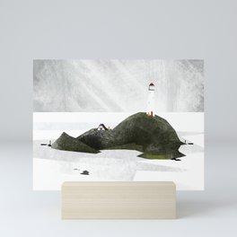 The Lighthouse Mini Art Print