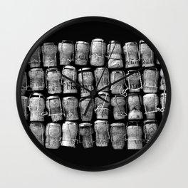 Something Nostalgic #4 Black and White #decor #society6 #buyart Wall Clock