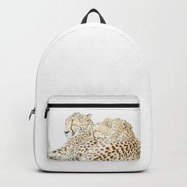Sleeping cheetahs Backpack