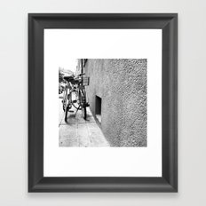 Lean On Me Framed Art Print