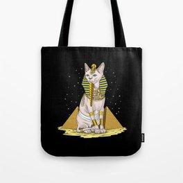 Egyptian Sphynx Cat Goddess Bastet Tote Bag