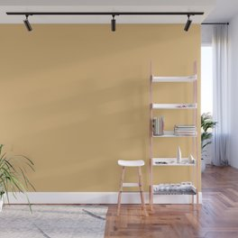 Dark Pastel Yellow Solid Color Pairs W/ Behr's 2020 Forecast Trending Color Charismatic PPU6-14 Wall Mural