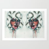 bugs Art Prints featuring Bugs by Vanitylife