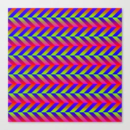 Zig Zag Folding Canvas Print