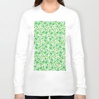 vegetable Long Sleeve T-shirts featuring Vegetable salad by Tony Vazquez