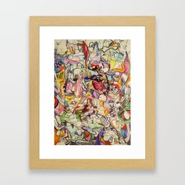 Drugs & Dubstep Framed Art Print